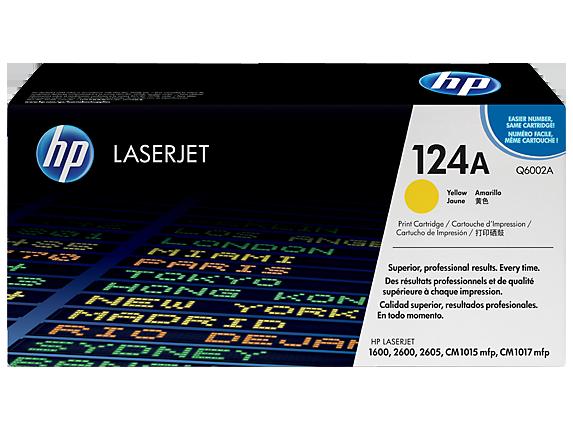Toonerkassetid - HP 124A (Q6002A) kollane toonerikassett