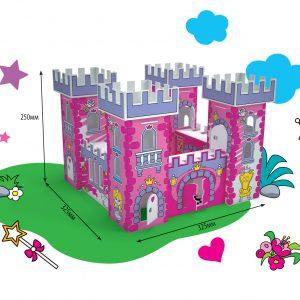 Isevärvitav mängumaja Kuninganna palee